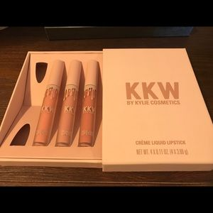 KKW by Kylie Cosmetics Creme Lipstick Set